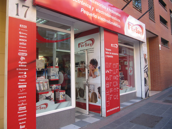 Fersay, Fersay franquicia, repuestos, accesorios, electrónica, electrodomésticos, tienda especializada