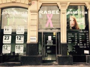 Rasel, Rasel franquicia, peluquería