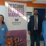 La UCI del hospital de Ibiza huele a esperanza y bienestar con la franquicia Ambiseint
