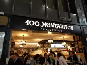 Franquicia 100 montaditos Black Edition
