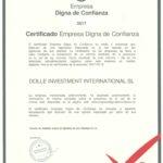La franquicia de moda De5en5 es reconocida como la Empresa Digna de Confianza