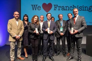 La franquicia Mail Boxes galardonada en SIF como la mejor franquicia de servicios