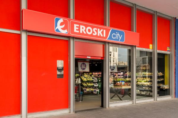eroski, franquicias, supermercados