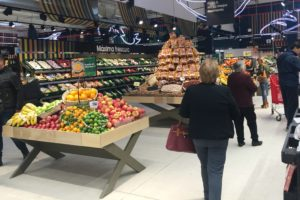 eroski, franquicia. supermercado