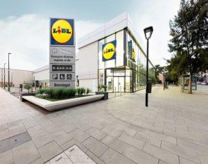 Supermercado LIDL metrópolis