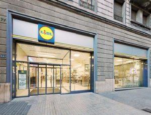 Supermercado LIDL urbano