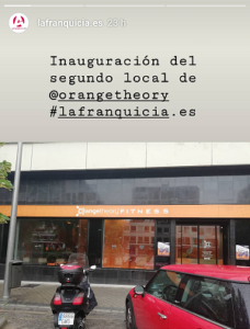 Inauguración franquicia Orangetheory