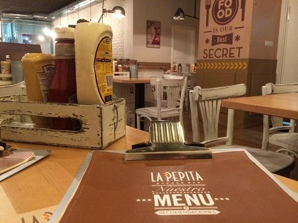 Franquicia La Pepita Burger Bar