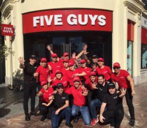 Franquicia Five Guys Valencia