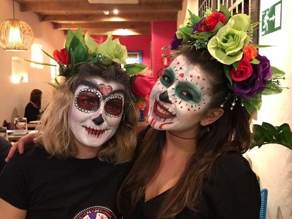 Auténtica comida mexicana para celebrar Halloween en los restaurantes de la franquicia La Chelinda