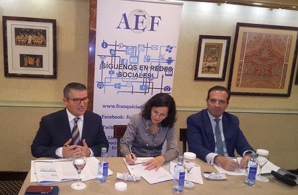 Rueda de prensa AEF