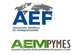 Logos AEF y AEMPYMES