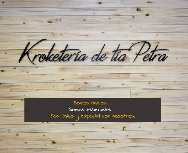 Franquicia Kroketería tia Petra
