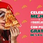 La franquicia Papa John's celebra el Día de la Pizza regalando porciones en los 70 restaurantes que tiene en España