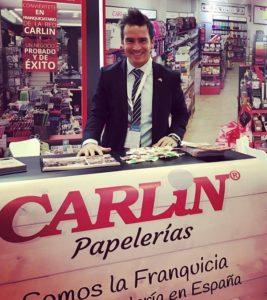José Hernández, Director General de Carlin en la Feria de Franquicias de México