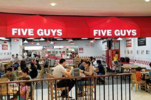 Franquicia Five Guys