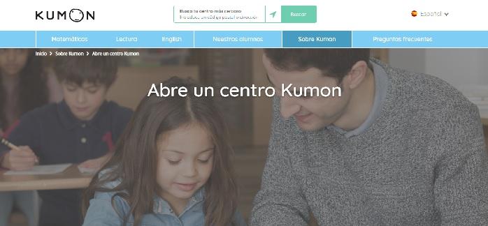 Franquicia Kumon web