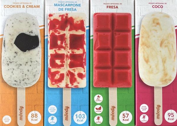Franquicia moody helados