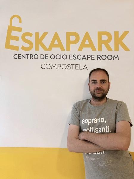 Eduardo Coto, franquicia Eskapark compostela