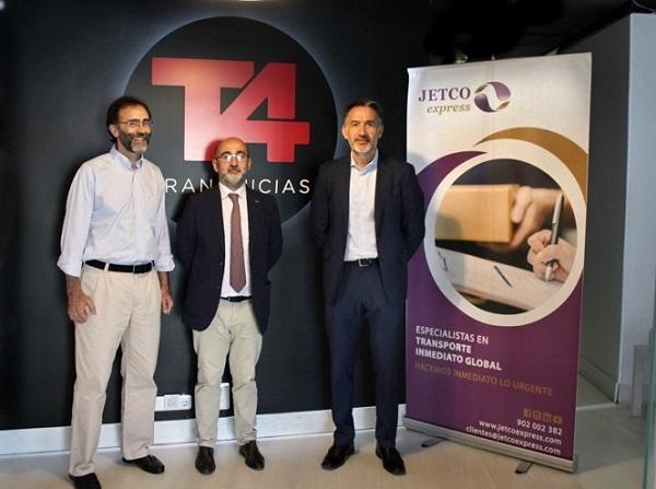 Jetco Express y T4 Franquicias