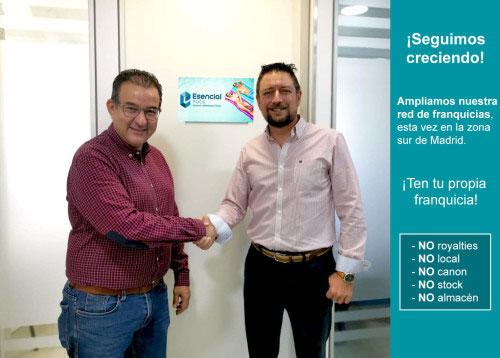 Nuevo Delegado Comercial de la franquicia Esencial Pool para la zona sur de Madrid